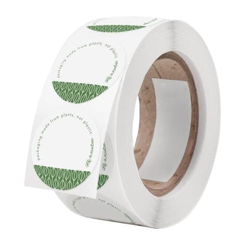 Vegware Compostable Write-On Stickers (Pack of 1000)